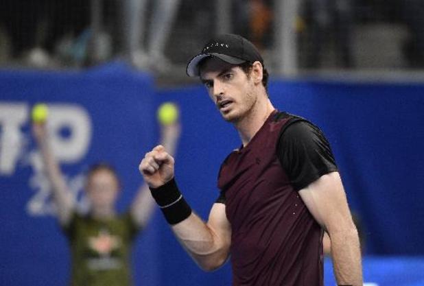 Andy Murray et sept joueurs du top 20 seront présents à Anvers