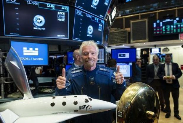 Ook Virgin-topman Richard Branson wil de ruimte in