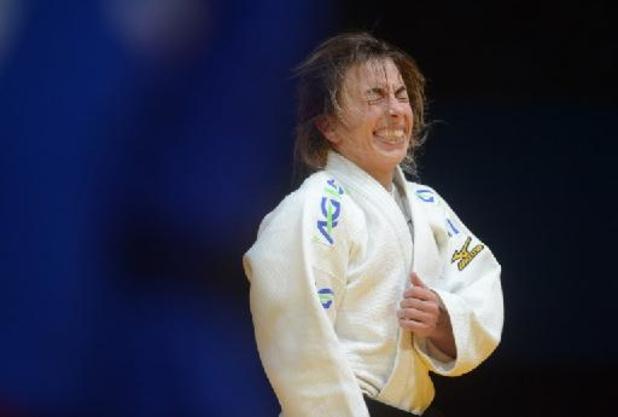 Charline Van Snick meteen uitgeschakeld op WK
