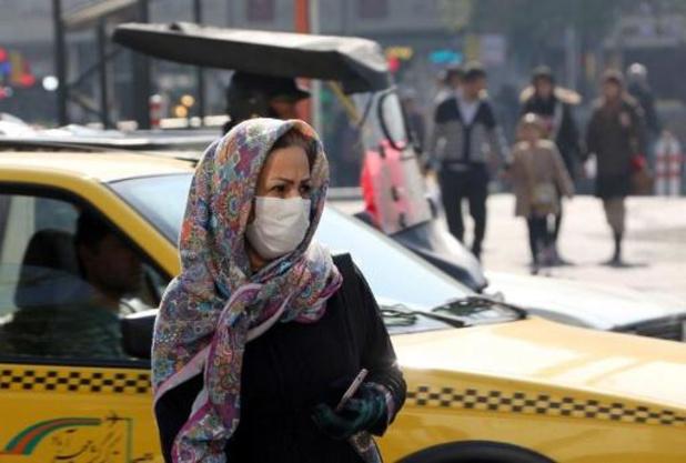 Scholen dicht en voetbalmatchen afgelast wegens smog Iran