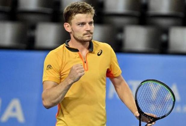 """ATP Montpellier - Goffin bereikt finale: """"Wist dat ik positief moest blijven na Australië"""""""
