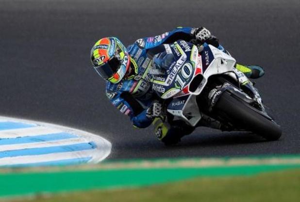 MotoE : Xavier Siméon 9e de la deuxième course à Jerez