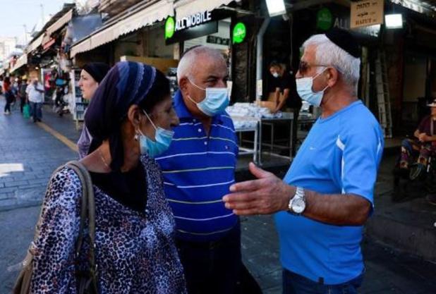 Voor het eerst sinds januari meer dan 10.000 nieuwe besmettingen in Israël