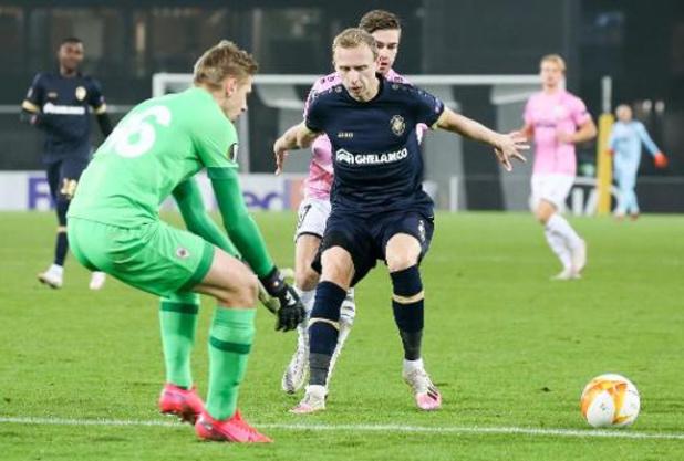 Europa League - L'Antwerp remporte une victoire importante à Linz
