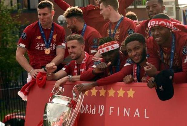 Liverpool déjà assuré de jouer l'édition 2020-2021 de la Ligue des Champions