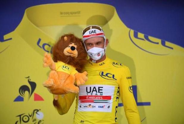 """Tour de France - """"Un moment incroyable"""", se réjouit Alexander Kristoff, maillot jaune à 33 ans"""
