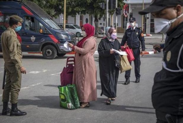 Kwaadheid bij Marokkanen die niet naar België kunnen terugkeren