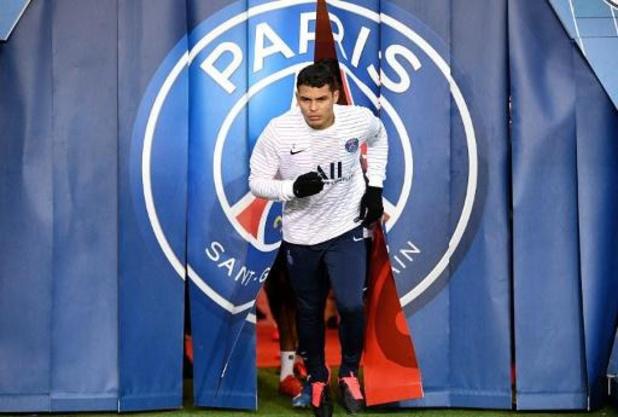 Ligue 1 - Thiago Silva op weg naar de uitgang bij PSG