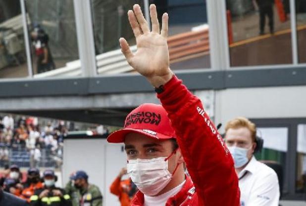 """F1 - GP de Monaco - Pas de """"dégât grave"""" sur la boîte de vitesse de Leclerc, auteur de la pole"""