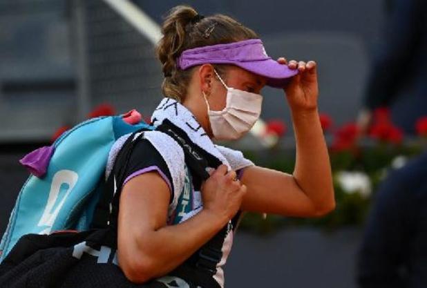 """WTA Rome - Mertens last pauze in tot Roland Garros: """"Mijn lichaam moet rusten"""""""