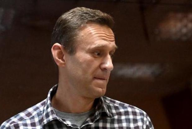 Strafkamp zou hongerstaking Aleksej Navalny dreigen te verbreken