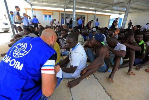 Près de 1.000 migrants ramenés en Libye depuis janvier