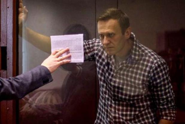 """La santé de Navalny """"satisfaisante"""", selon le service de prison russe"""