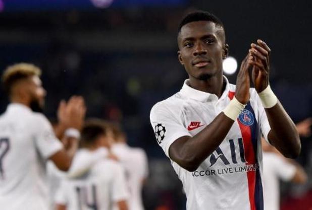 Ligue des Champions - Idrissa Gueye (Paris SG) blessé aux ischios-jambiers forfait pour le déplacement à Bruges