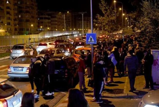 Vier doden en 150 lichtgewonden door aardbeving in Albanië