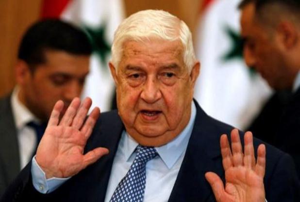 """Sanctions américaines: la Syrie ne se """"soumettra"""" pas à Washington"""