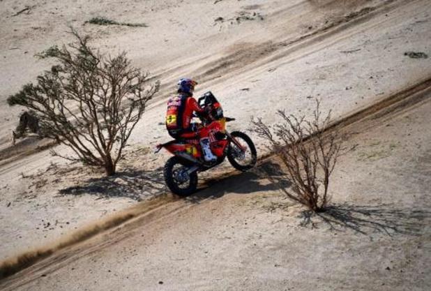 Chute et abandon de Toby Price, double vainqueur en motos