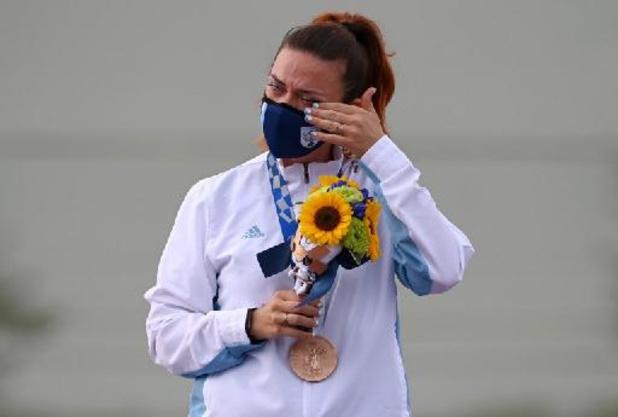 Alessandra Perilli offre à Saint-Marin la première médaille de son histoire