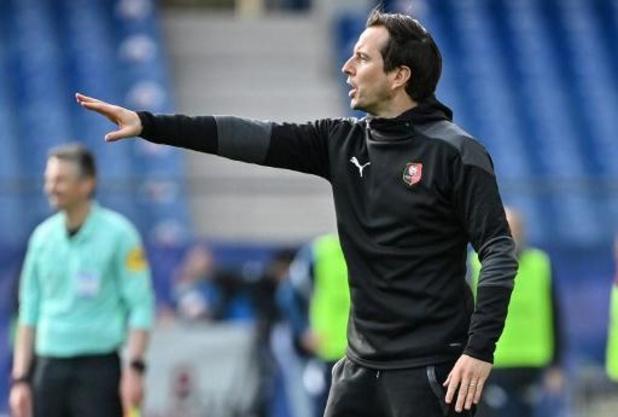 Julien Stéphan neemt ontslag als coach van Stade Rennes