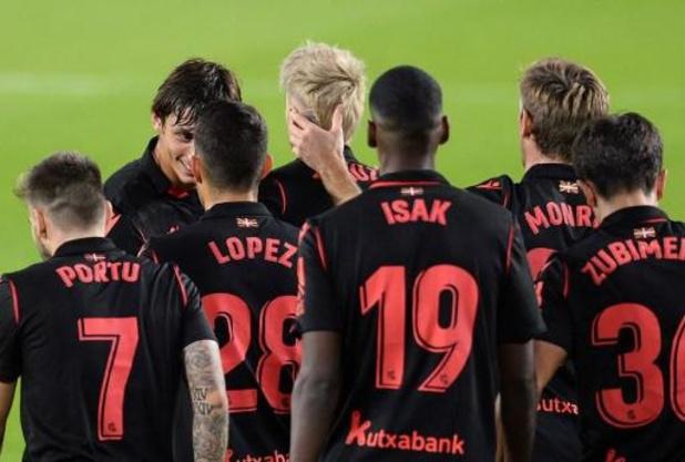 Les Belges à l'étranger - La Real Sociedad (1-4 au Celta) reprend la tête au Real Madrid