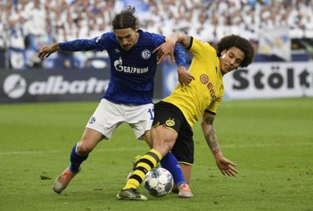 Thorgan Hazard et Axel Witsel partagent contre Schalke 04 dans le derby de la Ruhr