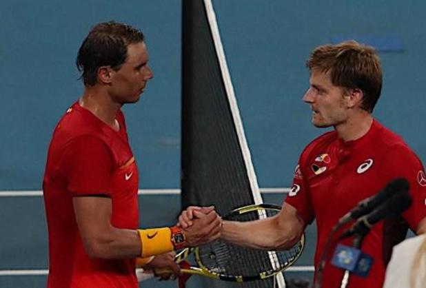"""Nadal, battu par Goffin: """"David a livré un grand match et moi, je manquais d'énergie"""""""