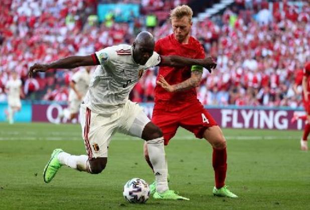 Romelu Lukaku élu Homme du Match de Danemark-Belgique