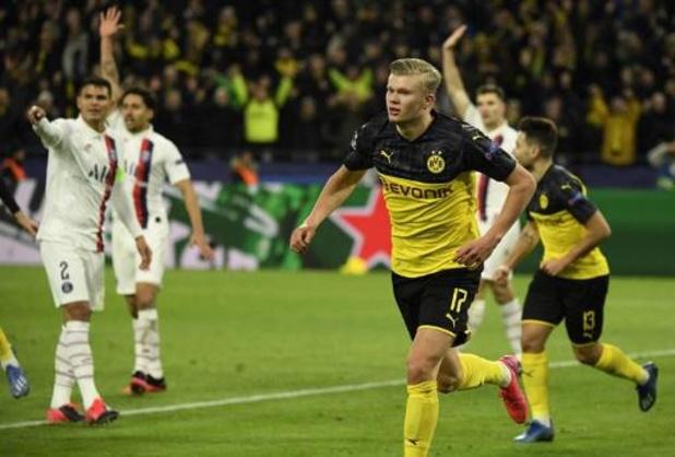 Champions League - Dortmund klopt PSG dankzij fenomeen Haaland, Atletico Madrid te sterk voor Liverpool