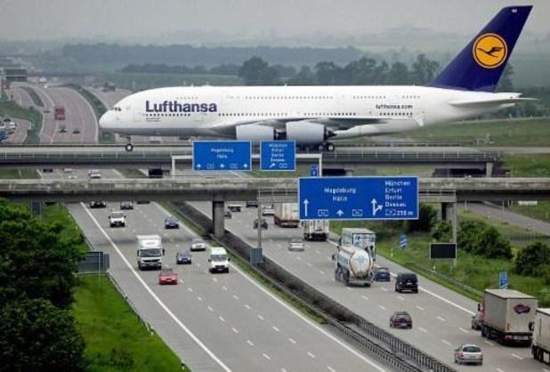 Lufthansa kan zich niet meer op eigen kracht redden