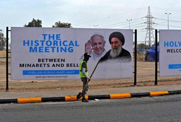 """Paus gaat als """"pelgrim van vrede"""" naar Irak"""