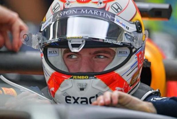 F1 - GP van Brazilië - Max Verstappen pakt tweede poleposition
