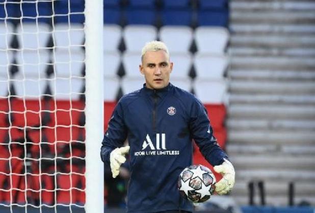Ligue 1 - Le gardien du PSG Keylor Navas prolonge jusqu'en 2024