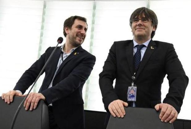 Europees Parlement start procedure voor opheffing immuniteit Puigdemont