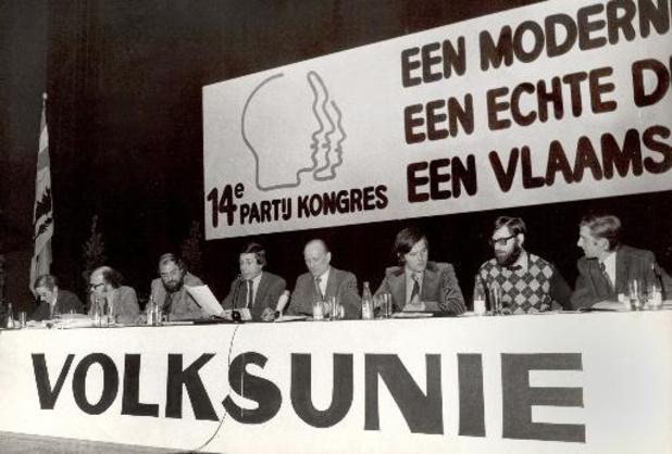 La Volksunie disparaissait il y a 20 ans