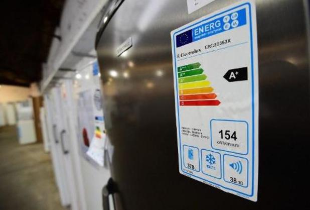 Ecocheques ook bruikbaar voor elektrische toestellen met nieuw energielabel