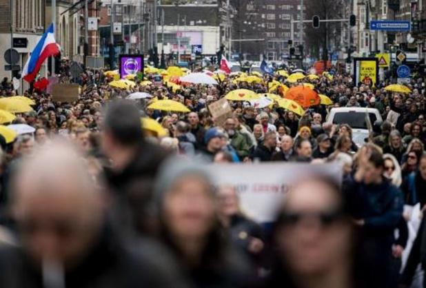 Amsterdamse politie ontruimt Museumplein na nieuwe demonstratie