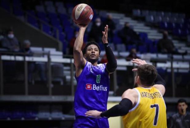 FIBA Europe Cup : Mons s'incline après prolongation et n'a plus son sort entre ses mains