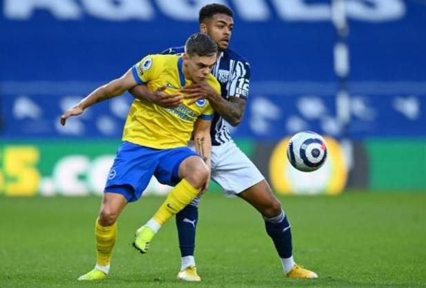 Les Belges à l'étranger - Défaite pour Trossard et Brighton face à West Bromwich Albion