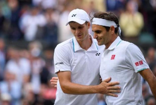 Roger Federer a quitté le Center Court sur son premier 6-0 encaissé à Londres