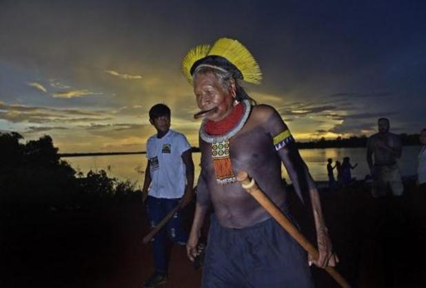 Braziliaanse indianenleider Raoni mag ziekenhuis verlaten