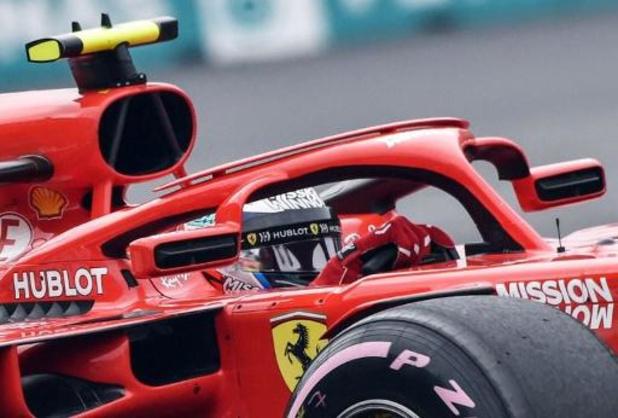 Kimi Räikkönen reçoit la Ferrari de sa dernière victoire