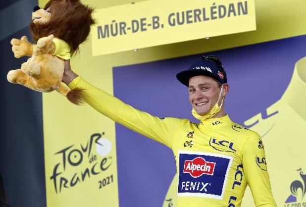 """Tour de France - Mathieu van der Poel: """"C'était ma dernière chance de prendre le maillot jaune"""""""