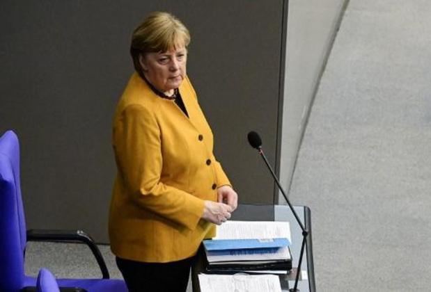 """Merkel reconnaît """"une erreur"""" et demande """"pardon"""" concernant les restrictions pour Pâques"""