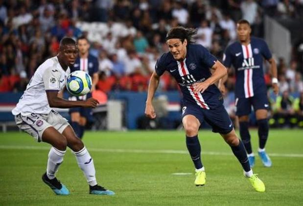 Le Parisien Cavani forfait contre Galatasaray dans le groupe de Bruges