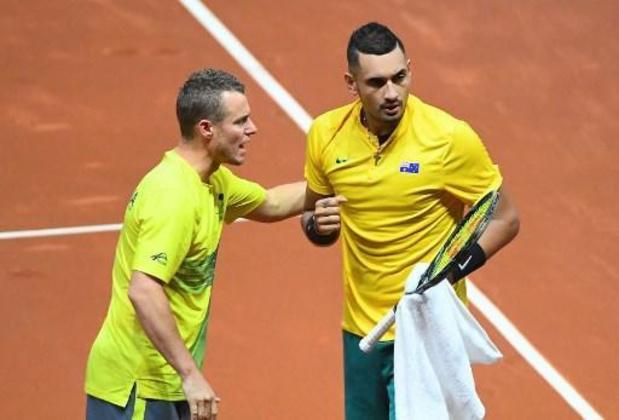 """Coupe Davis - Les Belges sont prévenus: """"Kyrgios est très motivé"""", a déclaré Lleyton Hewitt"""