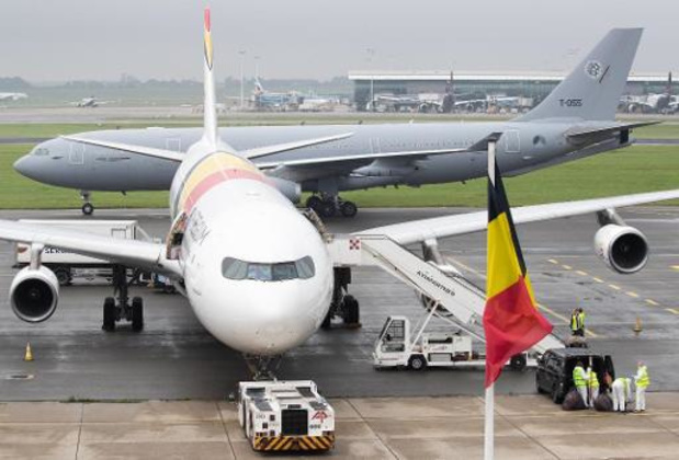 In totaal 226 geëvacueerden aangekomen in België