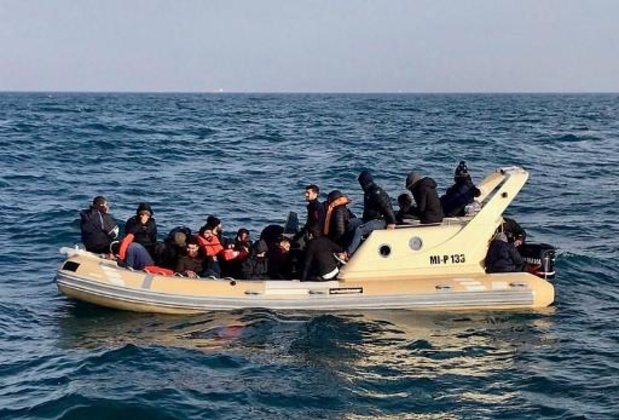 Manche: 72 migrants secourus au large de Calais et Boulogne-sur-mer