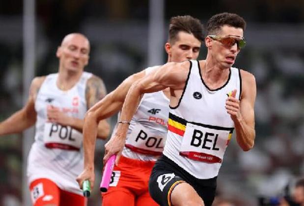 JO 2020 - Jonathan Borlée, blessé aux ischio-jambiers, forfait pour la finale du 4x400 m messieurs