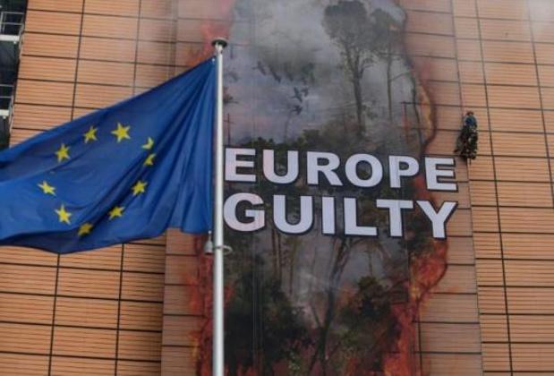 Greenpeace accuse l'Europe de complicité dans la destruction de l'Amazonie