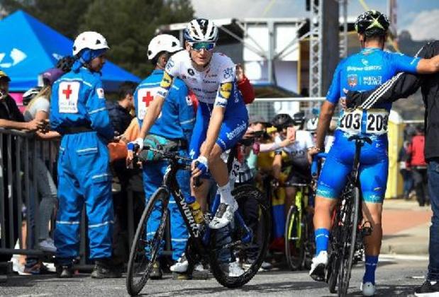 Les Danois Honore et Vingegaard à la fête lors de la 5e étape, le Grand Prix d'Emilie
